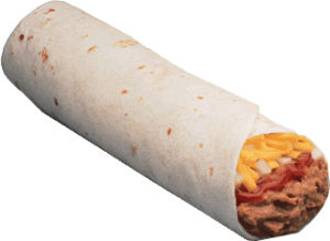 This is not a five layer burrito but it is labeled for reuse unlike other burritos