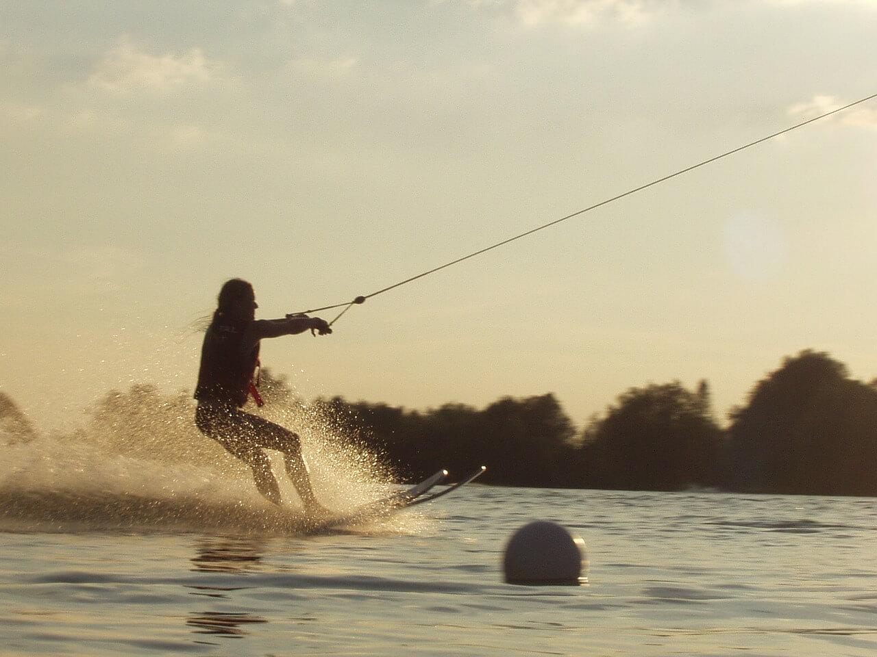 water skiier