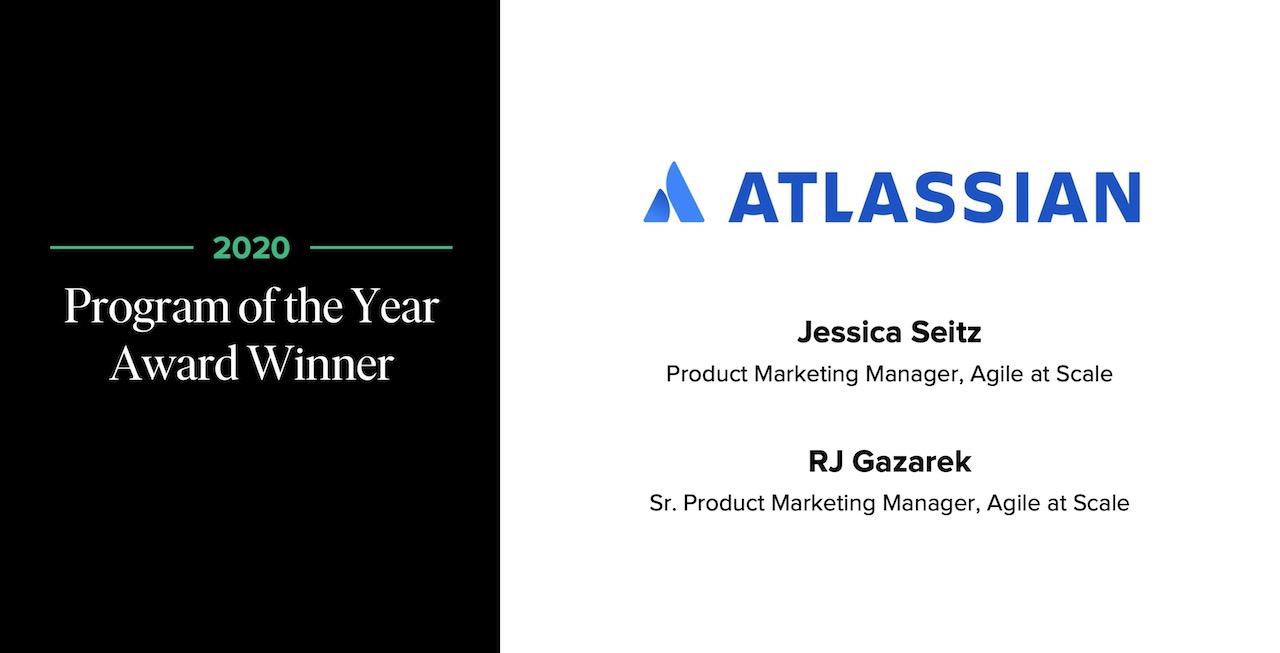 Atlassian POY award winner