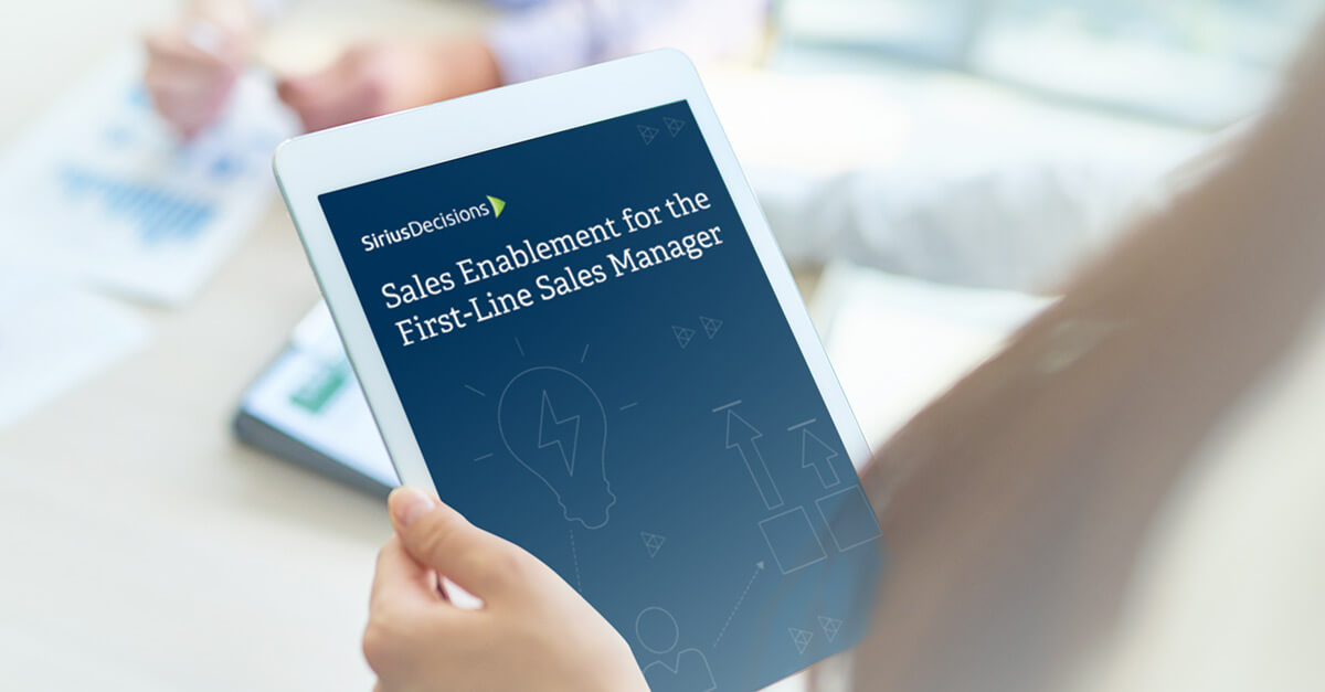 white tablet ebook cover sales enablement