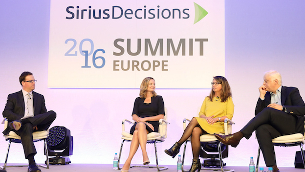 'The EMEA Revenue Engine, A Practitioner Chat' at SiriusDecisions 2016 Summit Europe