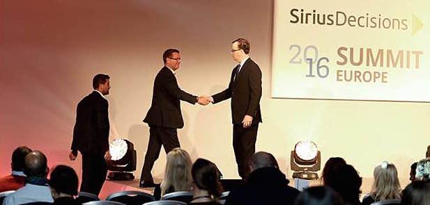 Automic Award Winner at SiriusDecisions 2016 Summit Europe
