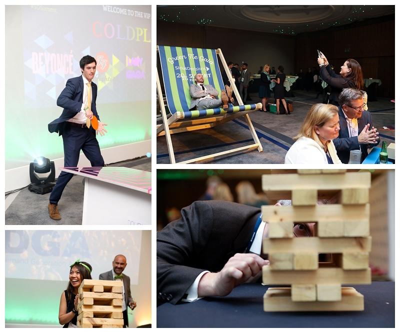 The Green Tie Gala at SiriusDecisions 2016 Summit Europe