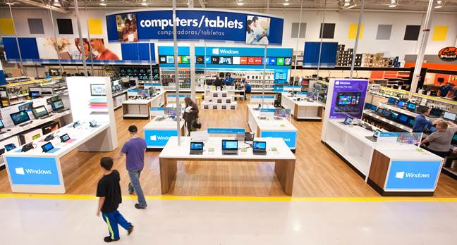 microsoft office retail stores